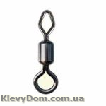 Вертлюжок MiniMax Round and diamond eye rolling swivel